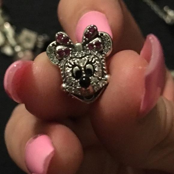 8f8a9c29394a Bling Minnie Mouse Pandora Charm. M 5b92246134e48afb3fc9884d